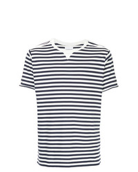 Takahiromiyashita The Soloist Striped Crewneck T Shirt