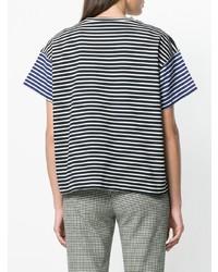 Sofie D'hoore Striped Short Sleeve T Shirt