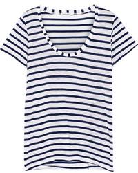 Splendid Venice Striped Jersey T Shirt