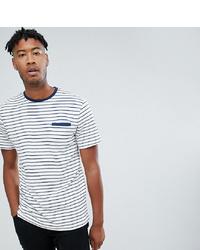 Jacamo Waffle T Shirt In Stripe