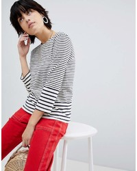 Warehouse Long Sleeve Stripe T Shirt