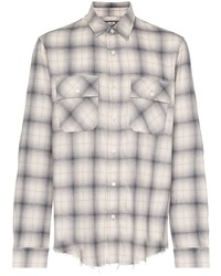 Amiri Checked Flannel Shirt
