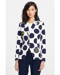 Kenzo Polka Dot Cutaway Jacket
