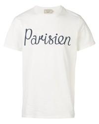 MAISON KITSUNÉ Parisien Print T Shirt