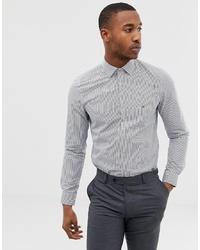 Calvin Klein Easy Iron Slim Fit Shirt Navy Stripe