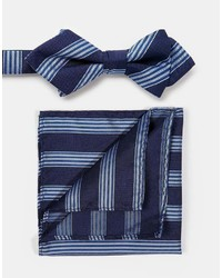 Homme bow tie and pocket square set medium 402568