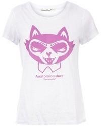 Undercover Cat Print T Shirt