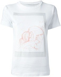 Societe Anonyme Socit Anonyme By Manuela Bengert Illustrative Print T Shirt