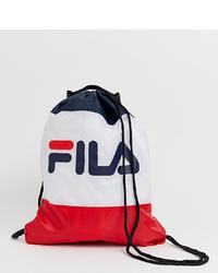 Fila Scoopy Classic Logo Drawstring Backpack