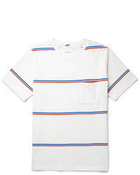 Saturdays Surf NYC Striped Cotton Jersey T Shirt