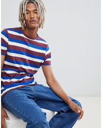 ASOS DESIGN T Shirt With Retro Stripe
