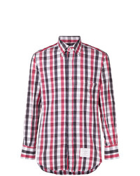 Thom Browne Check Print Shirt