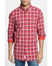 Plaid sport shirt medium 19465
