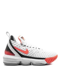 Nike Lebron 16 Hot Lava High Top Sneakers