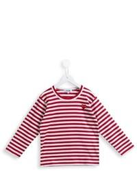 Comme Des Garons Play Kids Striped T Shirt