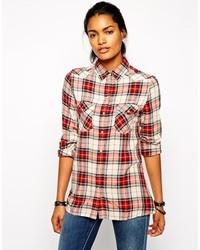 Checked shirt medium 127805