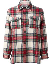 La prestic ouiston tartan checked shirt medium 127803