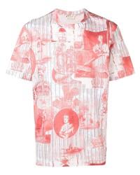 Marni Layered Art Print T Shirt