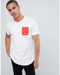 Jack & Jones Originals Oversized T Shirt With Box Print
