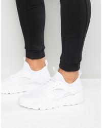 Nike Air Huarache Run Ultra Trainers In White 819685 101