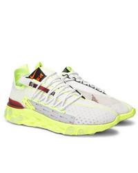 Nike React Ispa Flyknit Mesh Sneakers