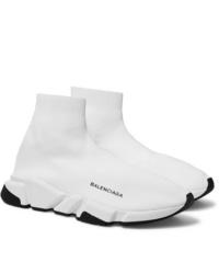 Balenciaga Speed Sock Stretch Knit Slip On Sneakers