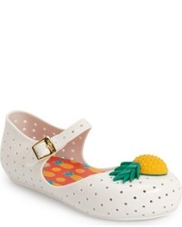 Mini Melissa Furadinha Mary Jane Flat