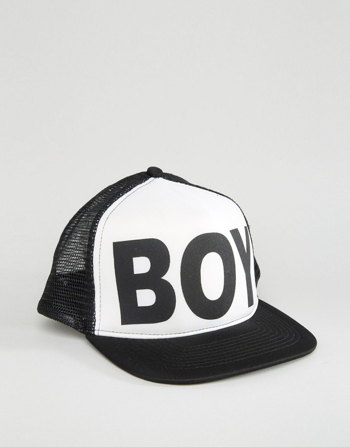 174a1e5a785 ... Baseball Caps Boy London Mesh Snapback ...