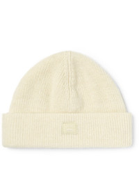Acne Studios Ribbed Wool Blend Beanie