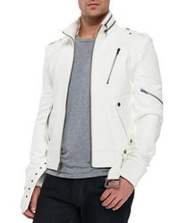 White biker jacket original 8633633