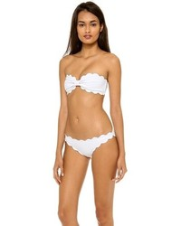 Marysia Swim Antibes Scallop Bikini Top