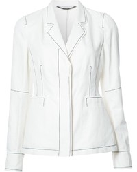 Stella McCartney Topstitch Blazer