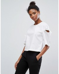 Only Bow Sleeve Blouse