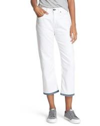 Rag & Bone Jean Marilyn Crop Boyfriend Jeans