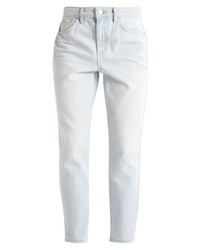 Topshop Ocean Vintage Mom Relaxed Fit Jeans Lightdenim