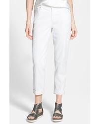 Eileen Fisher Stretch Boyfriend Jeans