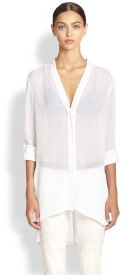 d30c74cc84a0 Helmut Lang Swift Tunic Blouse   Where to buy   how to wear