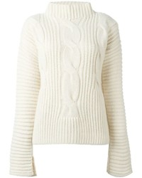 Cédric Charlier Cable Knit Jumper