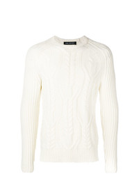 Neil Barrett Cable Knit Jumper