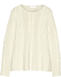 Co Cable Knit Cashmere Sweater