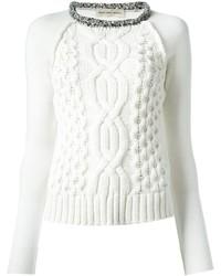 Coast Weber & Ahaus Coastweberahaus Front Cable Knit Sweater