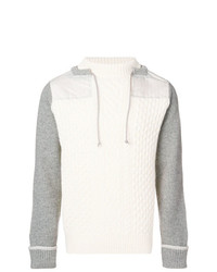 Sacai Drawstring Neck Sweater