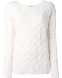 N.Peal Oversize Cable Sweater