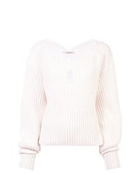 Hellessy Teardrop Cut Out Sweater