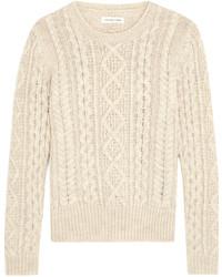 Etoile Isabel Marant Toile Isabel Marant Nilsen Cable Knit Wool Sweater