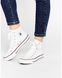 All star high top white sneakers medium 3734728