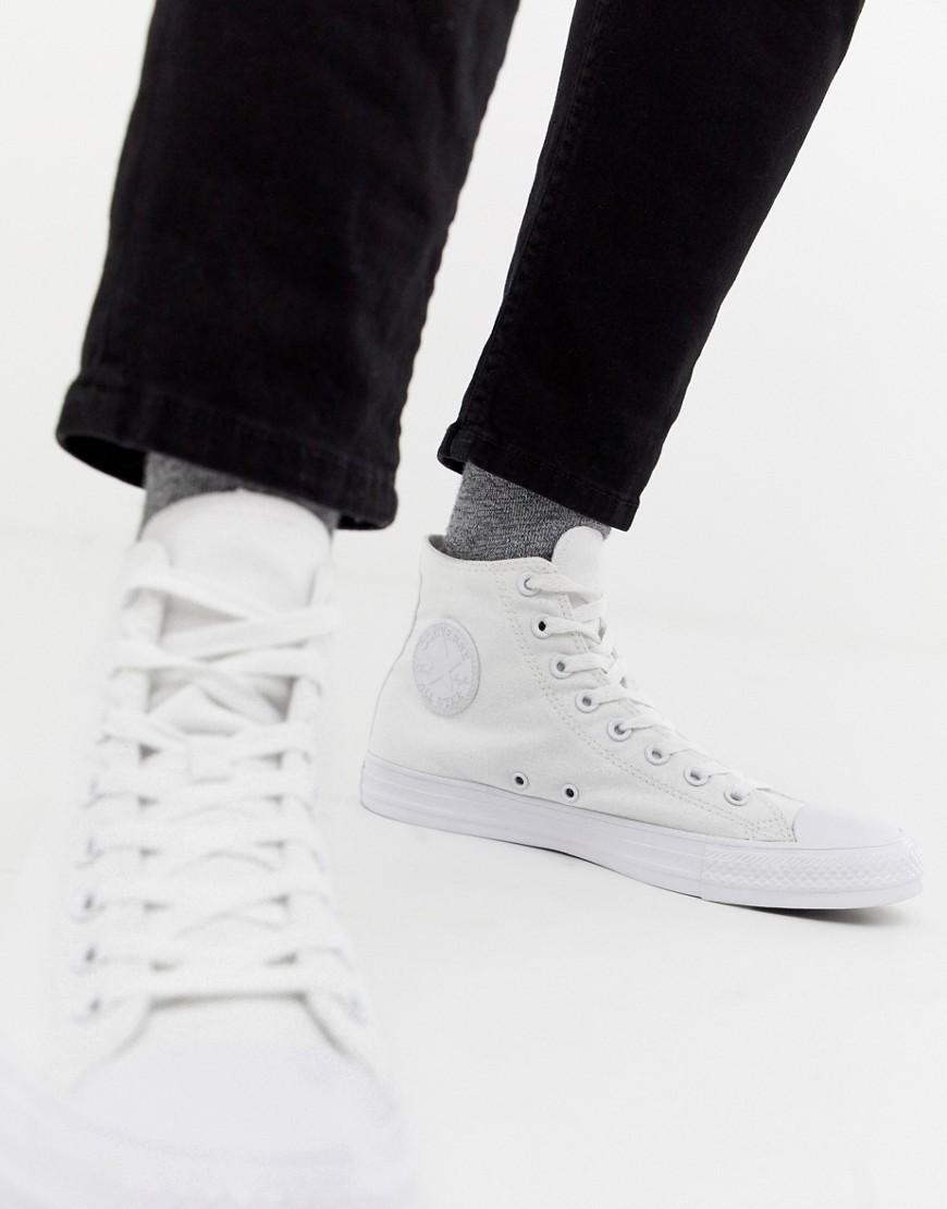 new high quality top fashion super quality Converse Chuck Taylor Hi Plimsolls In White 1u646, £55 | Asos ...