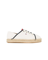 Tommy Hilfiger Raffia Sole Lace Up Sneakers