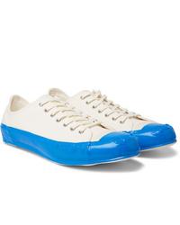 Comme Des Garcons SHIRT Taped Cotton Canvas Sneakers