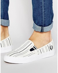 Fred Perry Turner Slip On Sneakers